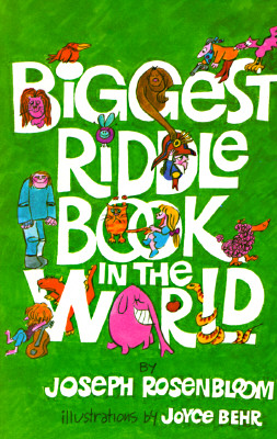 Biggest Riddle Book in the World By Rosenbloom, Joseph